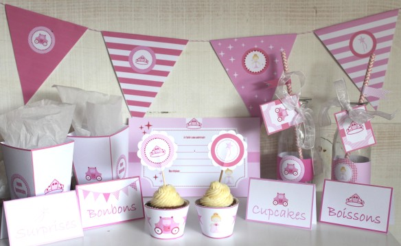 kit printable princesse