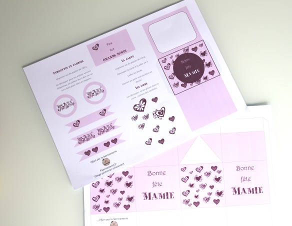 diy free printable fete des grand mères