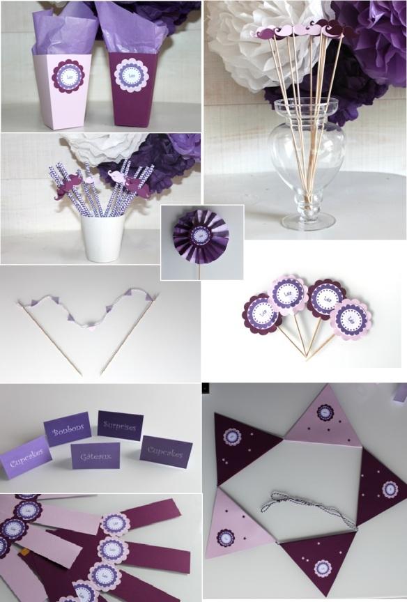 kit anniversaire Lilas-mauve2
