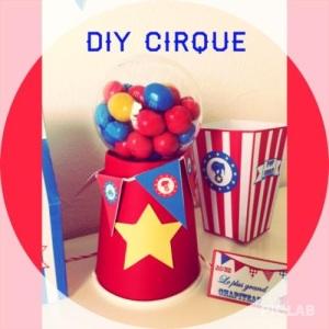 cirque diy fete anniversaire