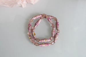 bijoux de perles de papier