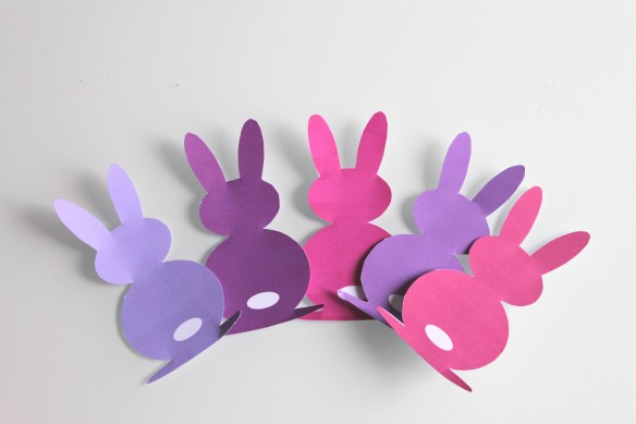 DIY pâques : guirlande de jolis lapins fabricamania free printable