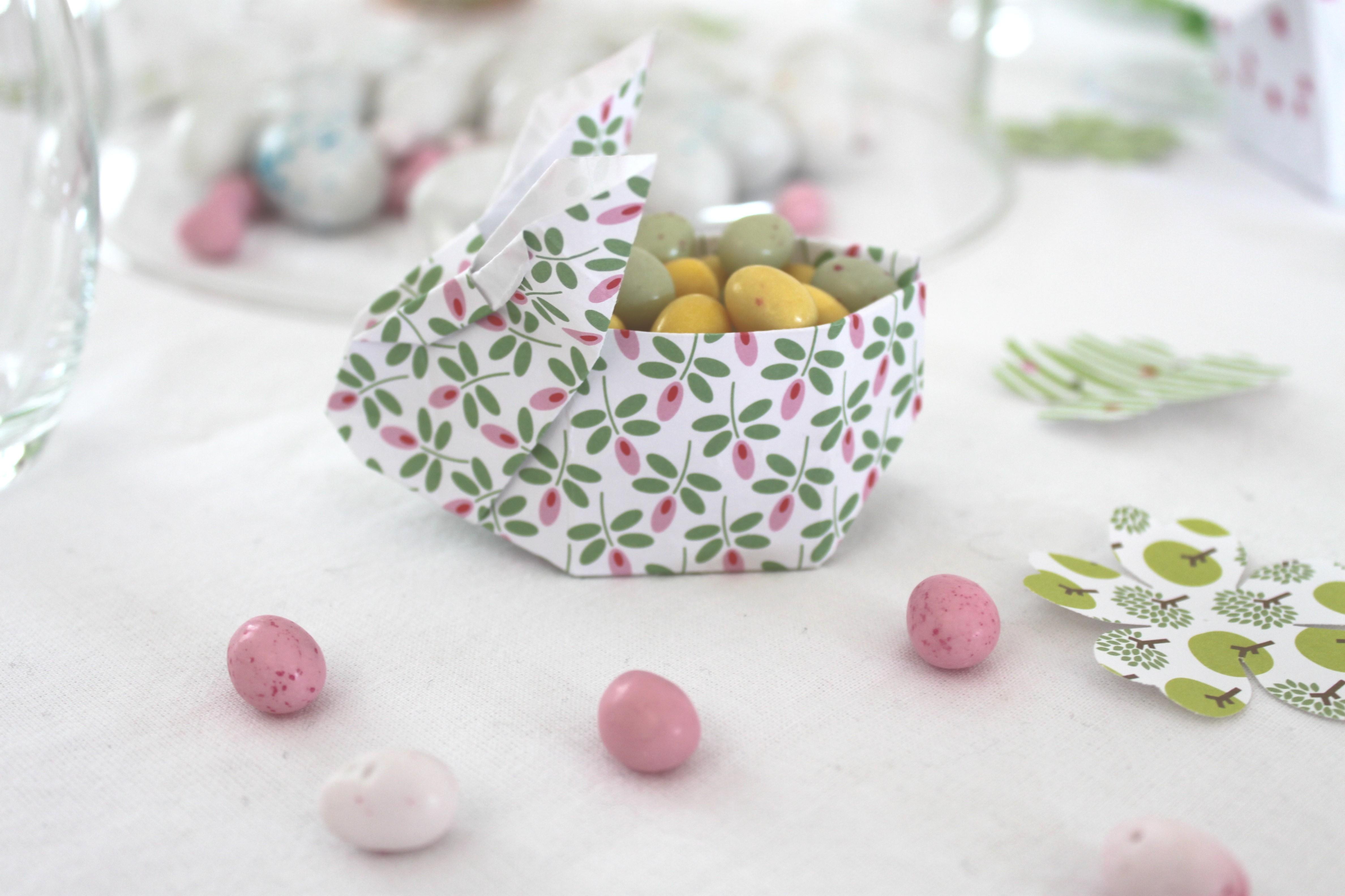 R aliser une jolie table pour p ques diy et free for Decoration lapin de paques