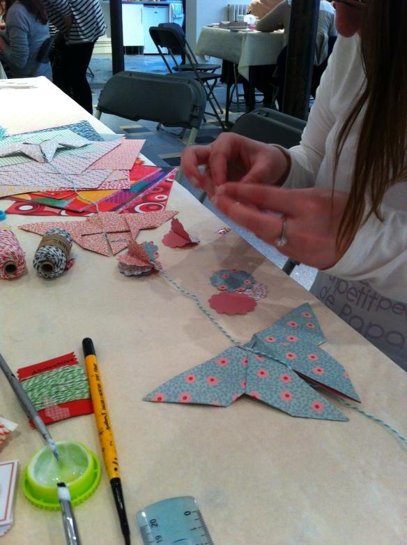 atelier origami papillon la fabricamania
