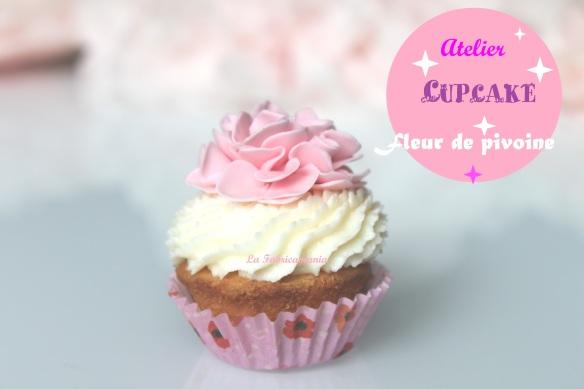 cupcake pivoine fete des mères bon cadeau idée