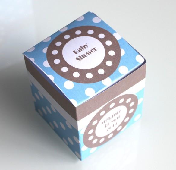 kit imprimable baby shower - dragées-baptême-