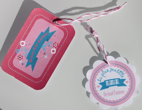 etiquette cadeau fête des mères à imprimer