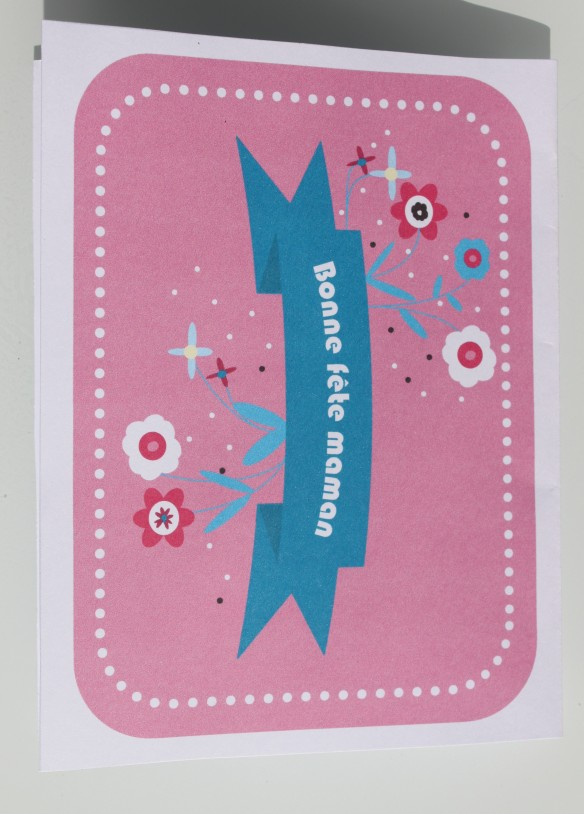 carte fête des mères à imprimer