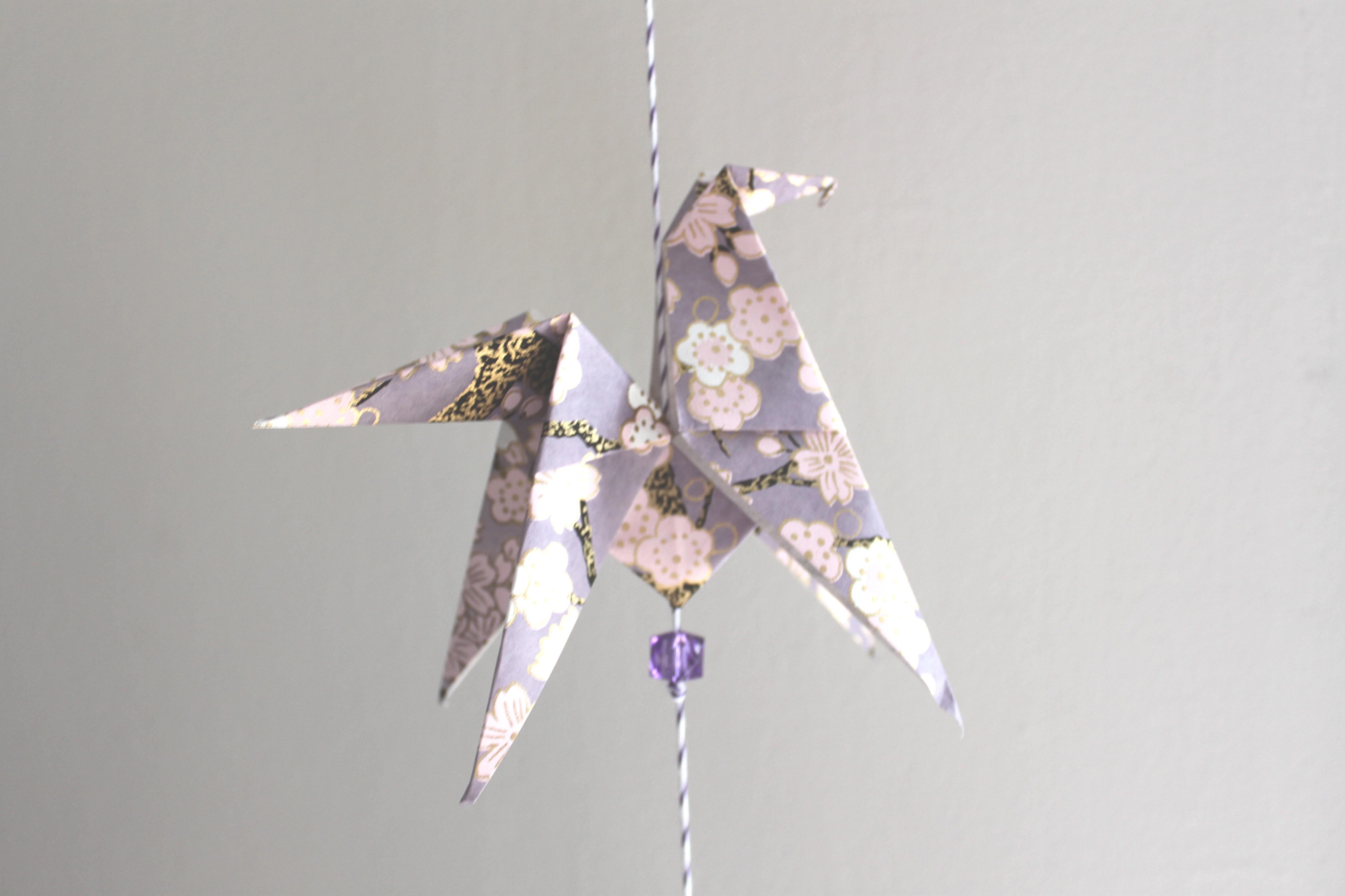 Diy une guirlande de jolis chevaux la fabricamania - Guirlande papier japonais ...