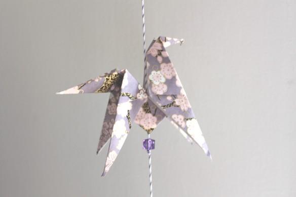 origami cheval atelier guirlande