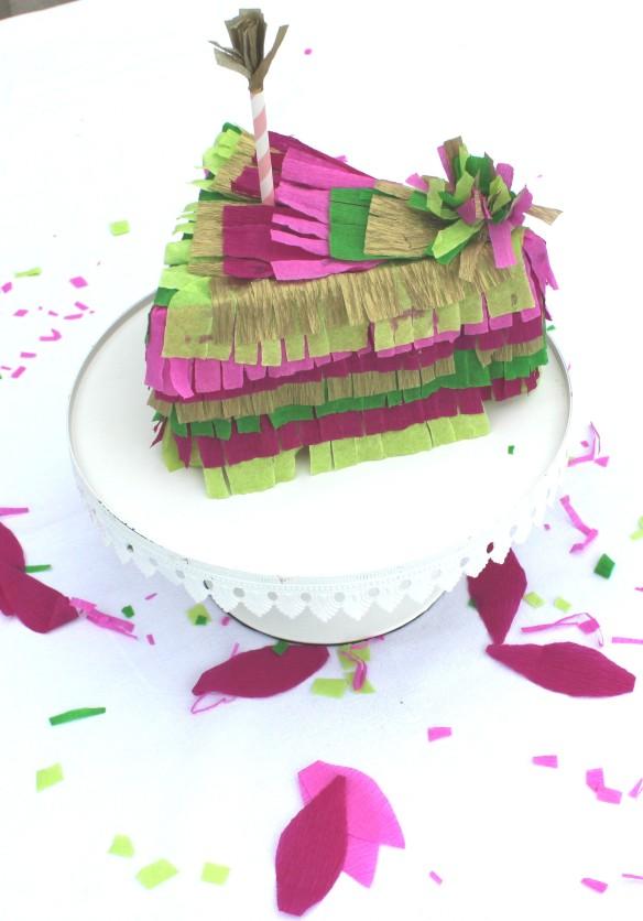 diy pinata part de gâteau