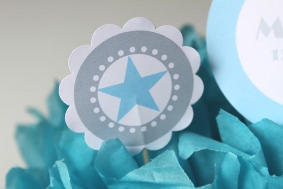 kit à imprimer bapteme baby shower candy bar