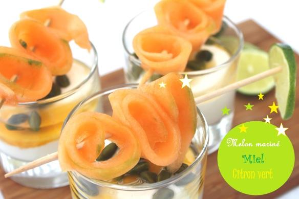 melon miel citron vert