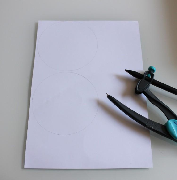 diy ombrelle papier et paille