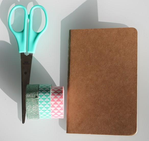 DIY carnet note pink ananas (3)