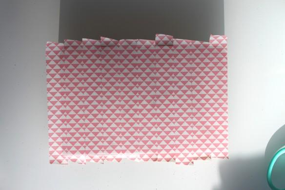 DIY carnet note pink ananas (5)