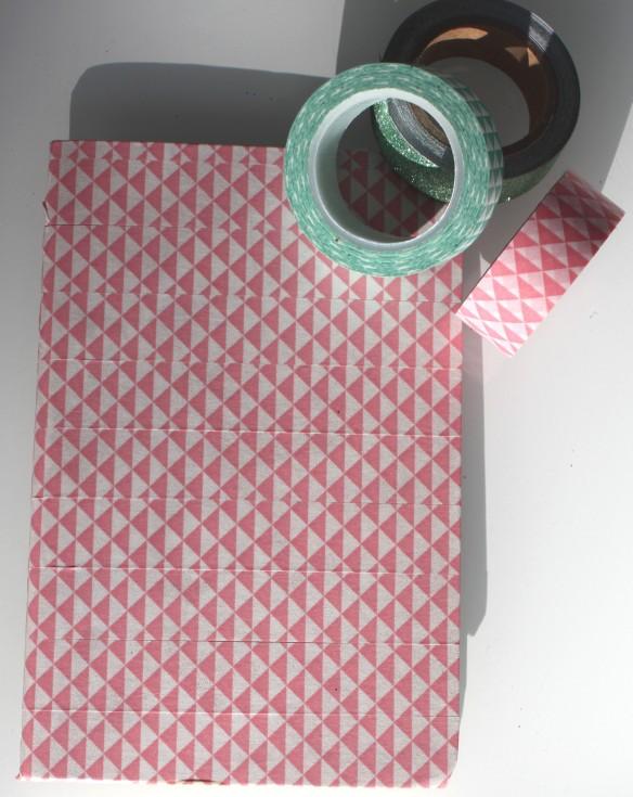 DIY carnet note pink ananas (6)