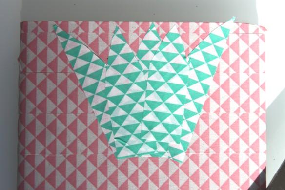 DIY carnet note pink ananas (7)