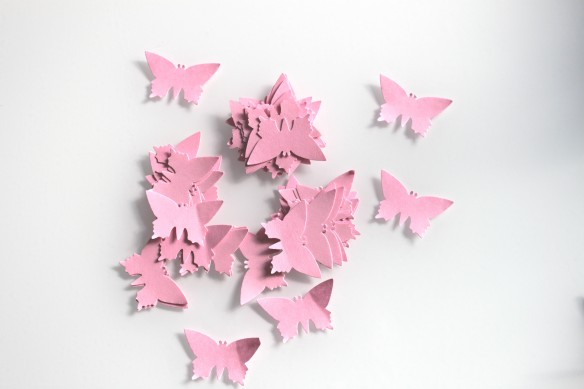 confetti papillon candy bar