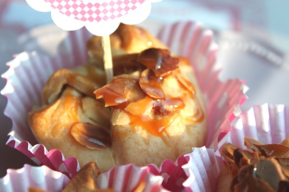 rose pomme amande caramel beurre salé recette