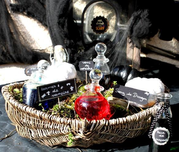 diy halloween - potion - sorcière