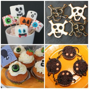 patisserie halloween cupcakes fantome