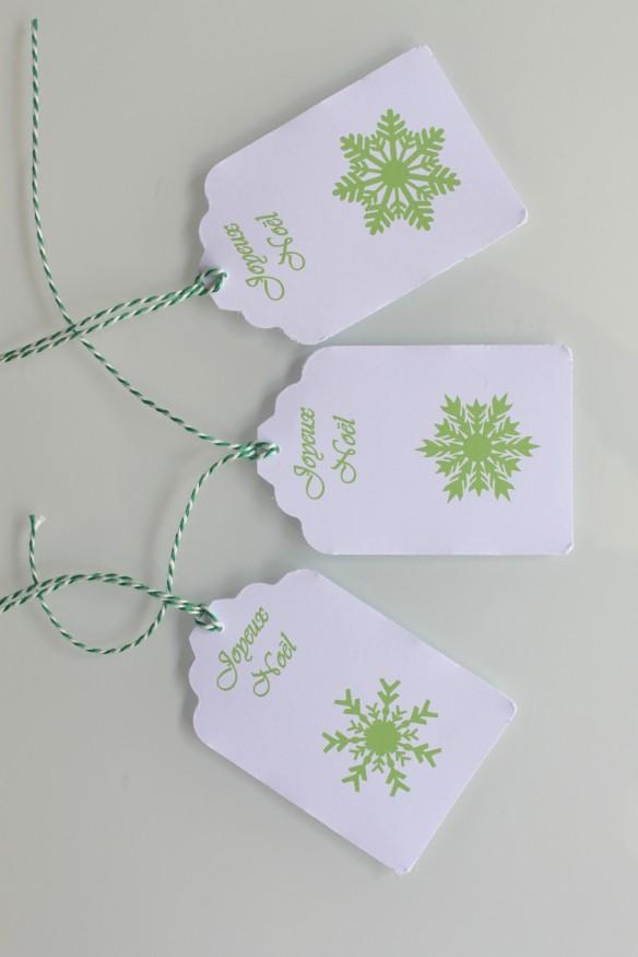 etiquette noel cadeaux