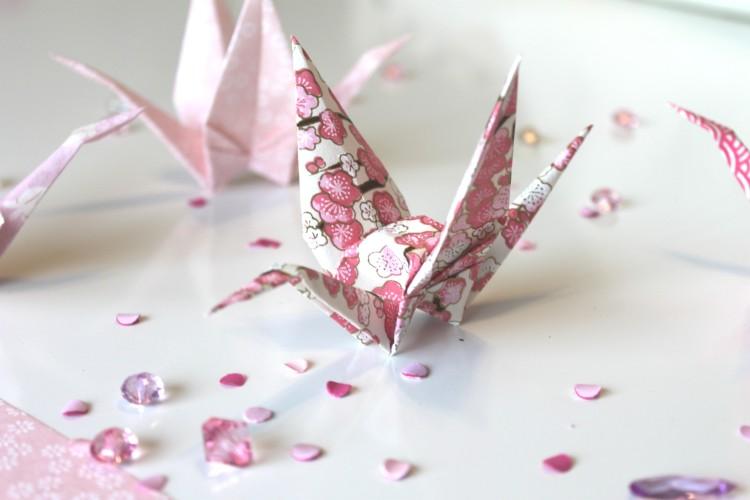 origami -grue-papier japonais