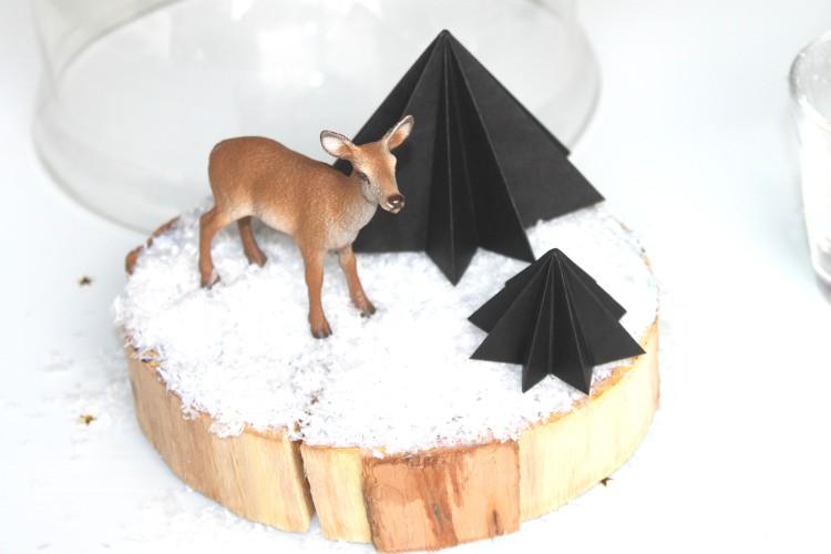 diy-centre-table-noel-biche-sapin-origami (8)