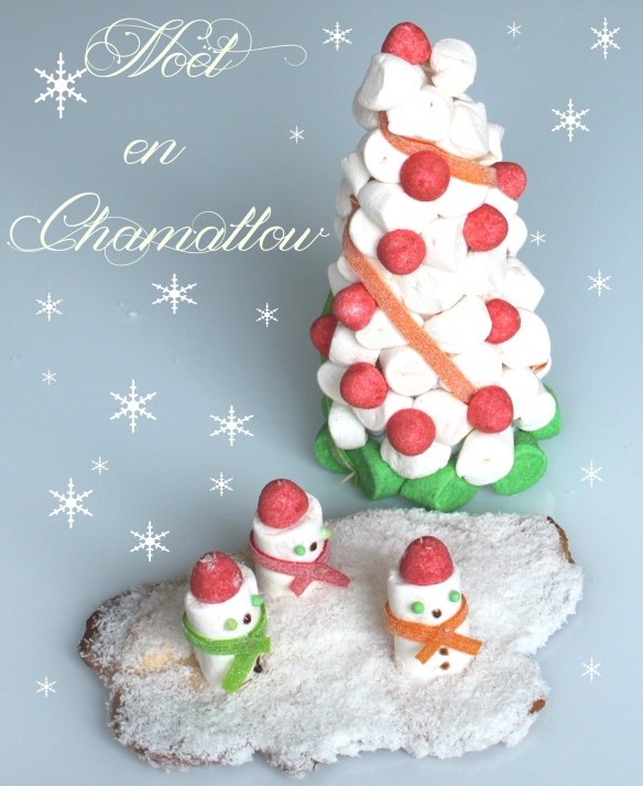 noel-sapin-et-bonhomme-de-neige-en-chamallow