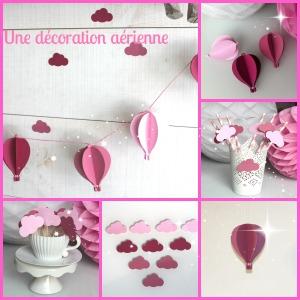 décoration-aérienne-montgolfiere-nuage-babyshower-bapteme