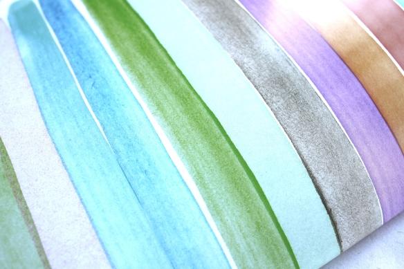 diy collier perles papier et pompon (5)