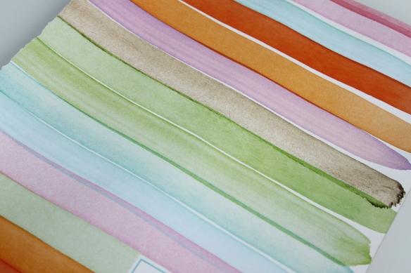 diy collier perles papier et pompon (7)