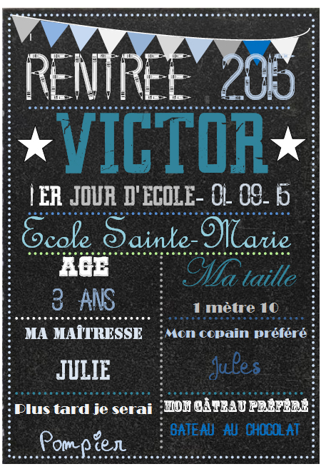 affiche victor-rentree-scolaire