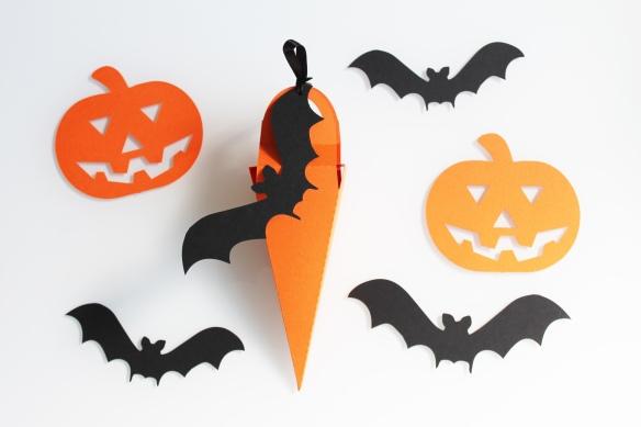 boite-bonbons-halloween-orange-chauve-souris-noir