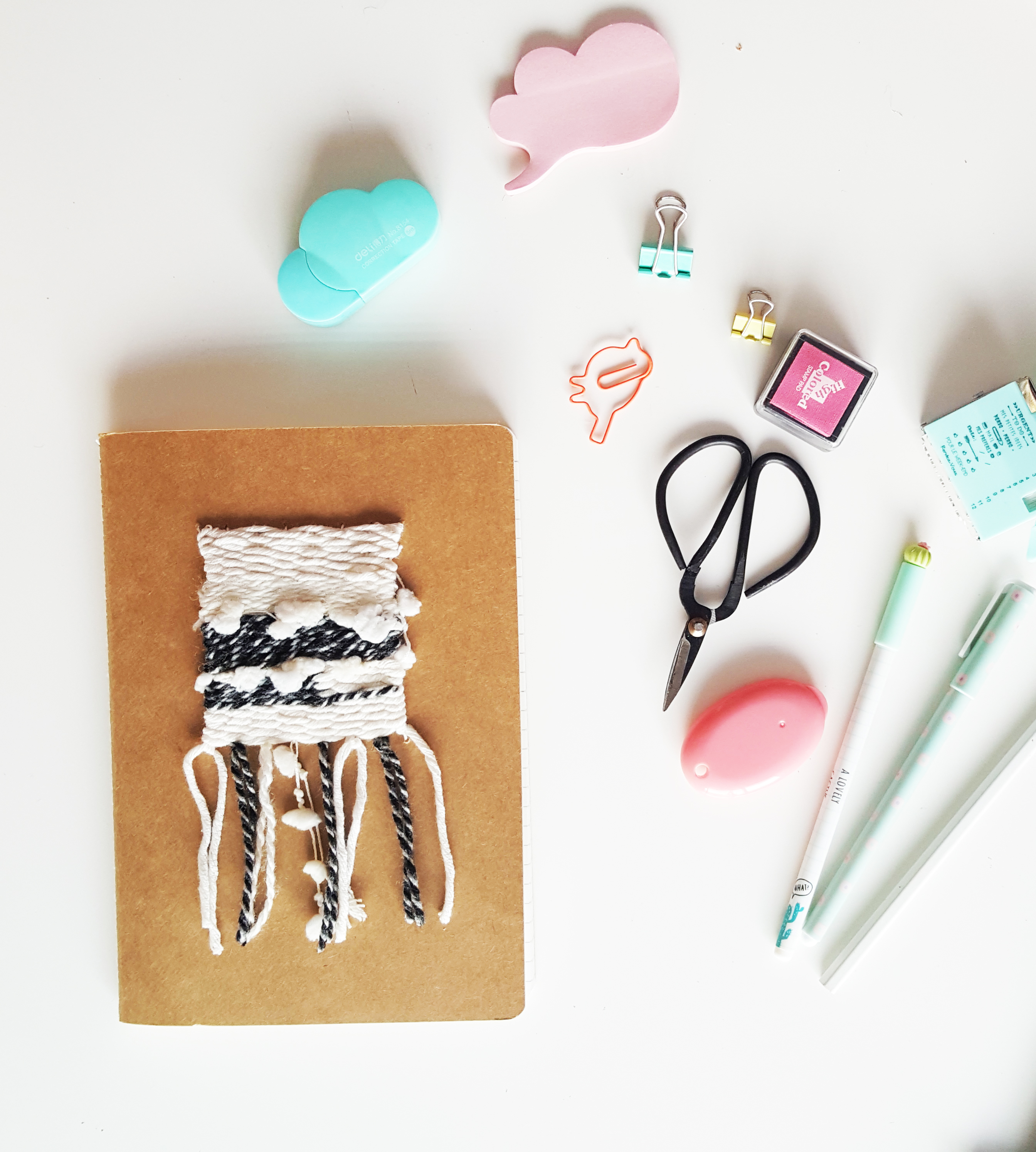 DIY-carnet-tissé-tissage-rentree-laine (1)